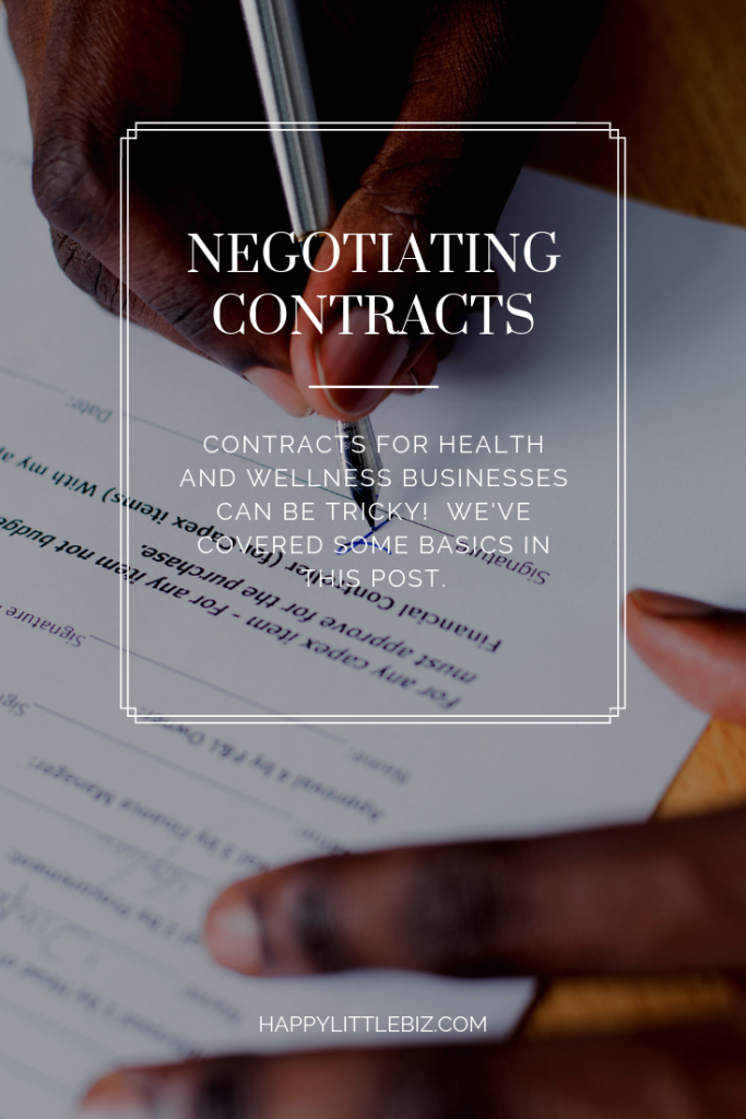 a person, holding a pen and signing a contract. Image for Pinterest.