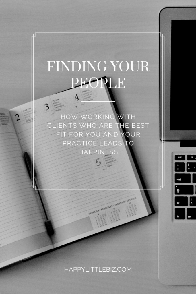 Finding your people: computer and dayplanner on a desk.