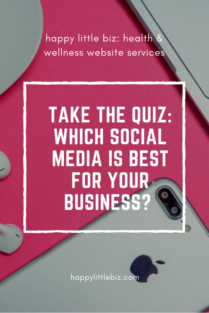 social media for business quiz!
