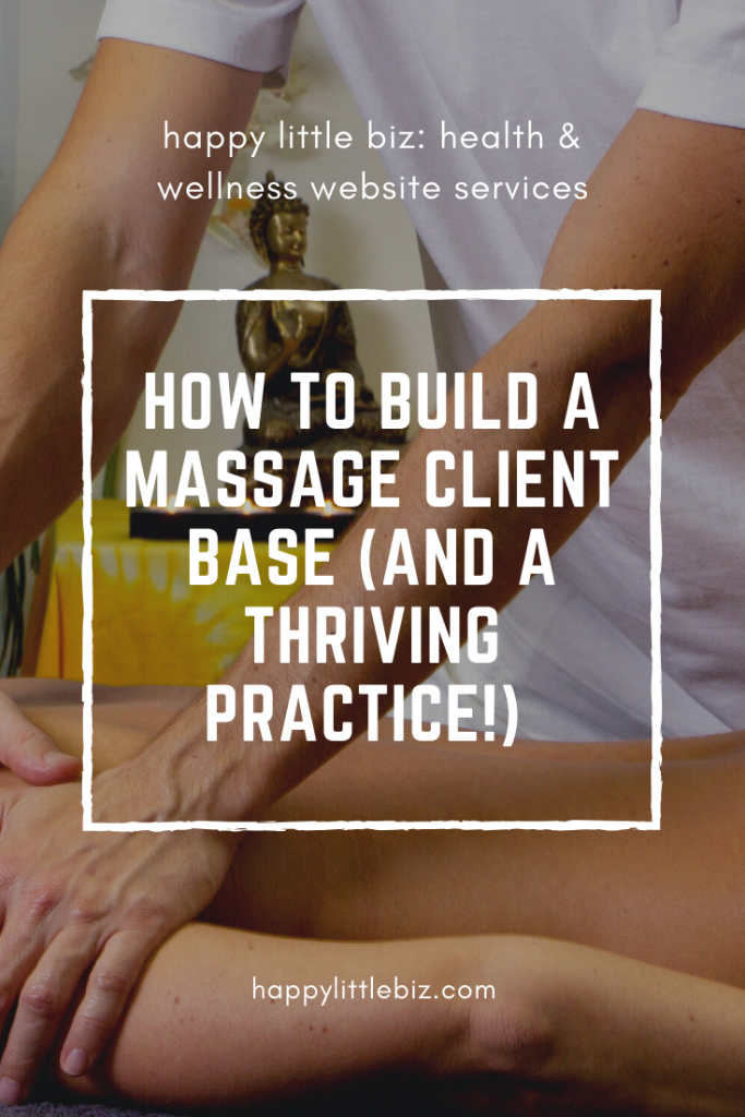 Figuring out how to build a massage therapy client base can be confusing. In this article I give you a step-by-step process to build a thriving practice.
