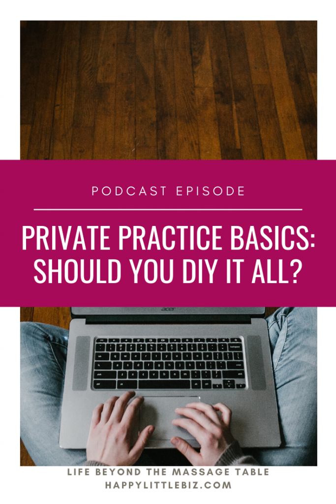 DIY vs hiring someone - which do you choose? It's important to find the balance between doing it all yourself (and therefore keeping the cost really low) vs hiring someone and spending a little more. And in reality, there are benefits to having someone else do some tasks that you may not have realized! In this podcast episode, we break down four major benefits to hiring someone else that you may not have considered.