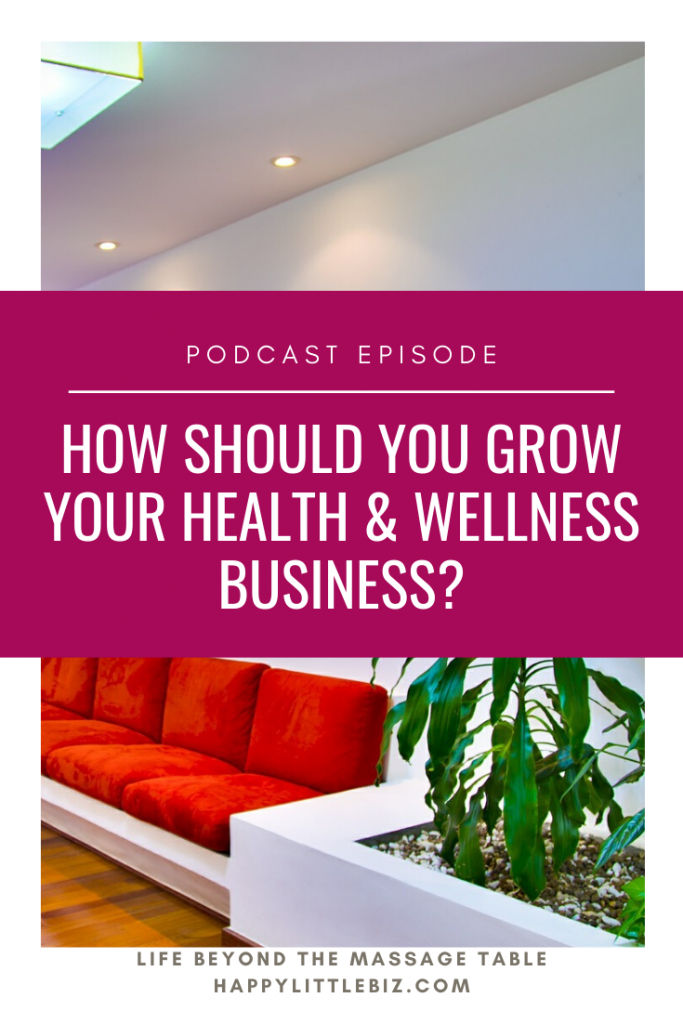 When it comes to growing your private practice as a health or wellness practitioner, there is a lot of advice out there. How do you grow in a way that makes you more money without having to work a bunch more hours? Do you hire more people? Should you even grow at all? So in this episode, we look at exactly those questions!