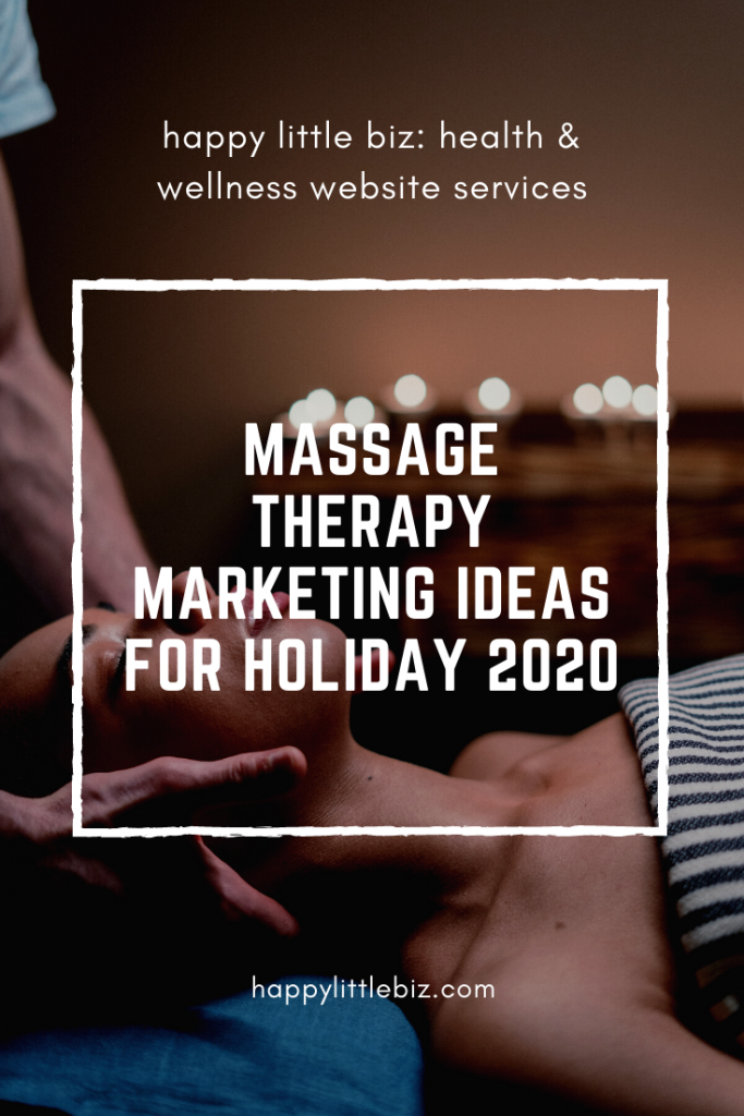 Getting clients to book in the fall and over the holidays is harder this year as a massage therapist (or most other health/wellness businesses), due to COVID. I know it's frustrating! Here are some ideas to boost your bookings and increase your income before the end of 2020.